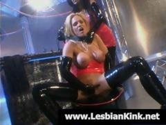 Lesbos in rubber..