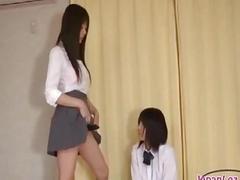 Schoolgirl Getting Her..