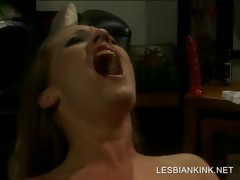 Lesbo BDSM scene with regard..